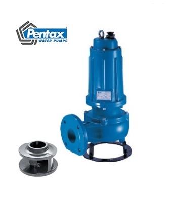 Lắp đặt Đấu điện Máy bơm chìm nước thải Pentax 5,5HP DMT560