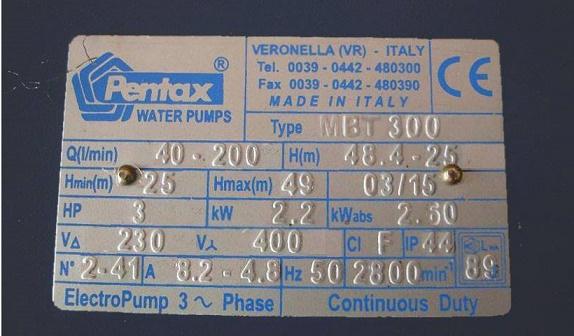 thông số máy bơm nước gia đình