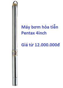 Báo giá máy bơm hỏa tiễn Pentax 6inch.